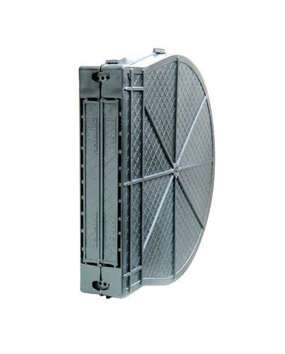 Schellenberg 50900 Mauerkasten für Einlasswickler und elektrische Gurtwickler MAXI, Lochabstand 16,5 cm, Gurtkasten aus PVC