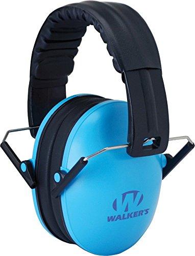 Walkers Game Ear Children's Passive Folding Ear Muff, Blue