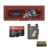 【任天堂ライセンス商品】モンスターハンターライズ microSDカード64GB+カードケース6 for Nintendo Switch【Nintendo Switch対応】