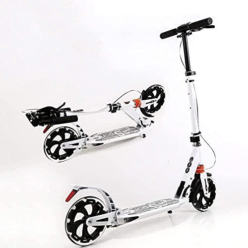 Patinete para Niños Scooters para niños, scooter plegable para adultos con hojas...