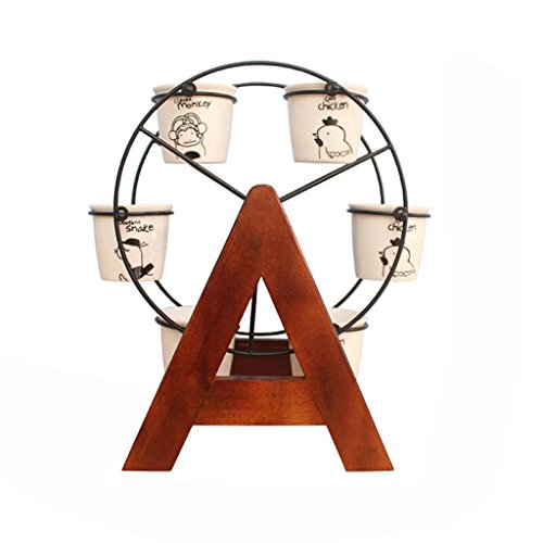 GLJJQMY Soporte De Mesa De Escritorio Mini Marco Decorativo De Madera Maciza De Almacenamiento De Oficina Estante Ventana Alféizar Carnero Maceta Estante