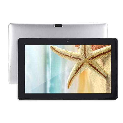 PUSOKEI Tableta PC de 11.6 Pulgadas 1920 x 1080P, para Intel Apollo Lake N3450 CPU / 6G RAM + 64G ROM / 2 MP Cámaras/Bluetooth BT4.0 /USB3.0/3.5MM Auriculares/Micro HDMI Windows10 WiFi Tableta(Plata)