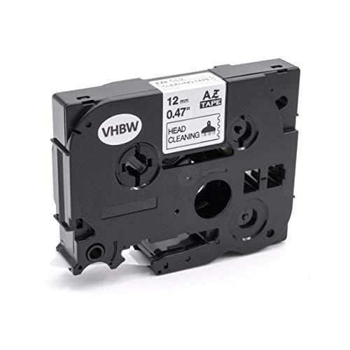 vhbw Druckkopf-Reinigungskassette 12mm passend für Etiketten-Drucker Brother P-Touch 2700, 2700VP, 2710, 2730, 2730VP, 300, 300B, 300SP, 310, 310B