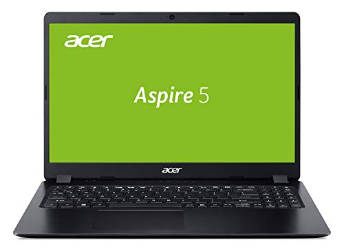Acer Aspire 5 (A515-43-R3J6) 39,6 cm (15,6 Zoll Full-HD IPS matt) Multimedia Laptop (AMD Ryzen 5 3500U, 8 GB RAM, 512 GB PCIe SSD, Radeon Vega 8 Graphics, Win 10 Home) schwarz
