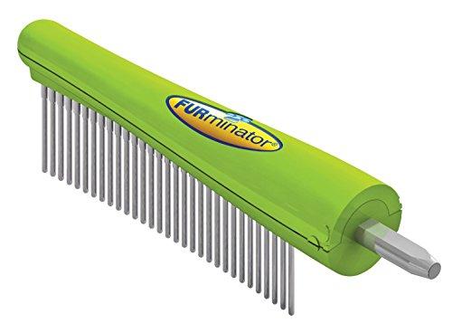FURminator FURflex Finishkam-opzetstuk, vachtverzorging voor honden met lange, krullende, zijdeachtige of draden vacht