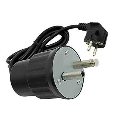 LOVIVER Elektro Rotator Grillmotor BBQ Grillspießmotor Spieß Rotisserie Spießdreher, AC 220-240 V