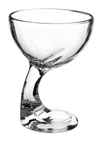 Copa a Helado 36cl Altura: 14cm Diámetro: 11cm. Cristal transparente