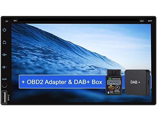 Tristan Auron BT2D7018A-DVD Android 10.0 Autoradio mit Navi + OBD 2 und DAB+ Box I 7