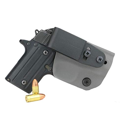 FoxX Holsters Deluxe Trapp Kydex IWB Holster - Compatible...