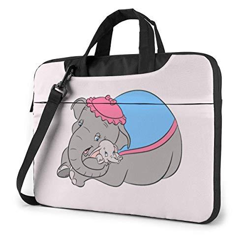 15.6 Inch Laptop Shoulder Bag Dumbo Laptop Briefcase Shoulder Messenger Bag Case Sleeve LAPT-097