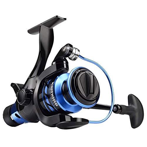DXYSS Carrete Giratorio de Pesca Carretes Spinning Centron, 9 +1 BB Peso Ligero, Ultra Suave de Gran Alcance, tamaño 500 es Perfecto for Ultraligero/Pesca en Hielo.