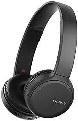 Sony WH-CH510 - Auriculares inalámbricos bluetooth de diadema con hasta 35 h de autonomía, negro
