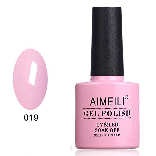 AIMEILI UV LED Gellack Gel Nagellack Rosa Pink Gel Nail Polish - Cake Pop (019) 10ml