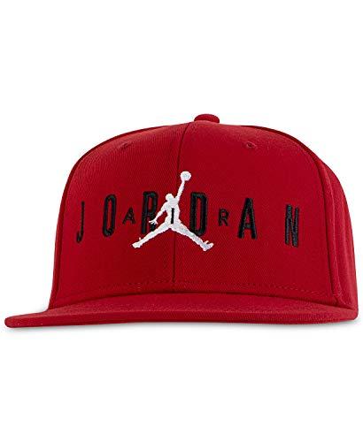 Nike Jordan Jumpman Air Berretto da ragazzo, Bambino, Gym Rosso (9a0128-r78)/Bianco, 8/20