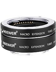Neewer Metalen autofocus AF-macro-verlengbuisset 10 mm, 16 mm voor Sony NEX E-mount camera zoals a9 a7 a7II a7III a7RIII a7RII