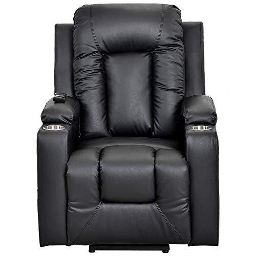 belupai - Elektrischer Fernsehsessel Aufstehsessel Relaxsessel Sessel mit Aufstehhilfe Braun