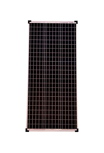 Solarmodul 100 Watt Mono 36V Solarpanel Solarzelle 1130x505x30 93098 Photovoltaik
