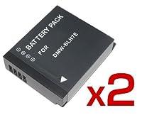 【 バッテリー 2個セット 残量表示可 】 Panasonic DMW-BLH7 互換 バッテリー LUMIX DMC-GM1K 対応