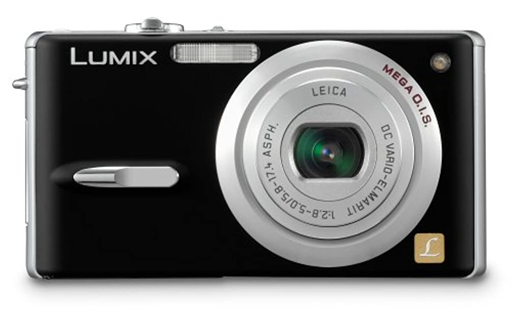 Panasonic Lumix DMC-FX9K 6MP Digital Camera with 3x Image Stabilized Optical Zoom (Black)