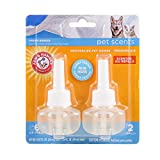Arm & Hammer for Pets Scents Plug-in Scented Oil Refills in Fresh Breeze, 2-Pack | Room Deodorizer for Homes with Pets, 0.67 Fl Oz x 2