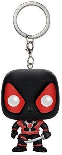 Funko - Pocket POP Keychain: Marvel - Black Deadpool