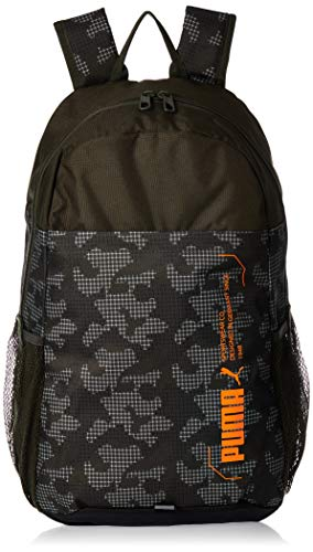 PUMA Unisex-Adult 076703-07 Backpack, Green, One Size