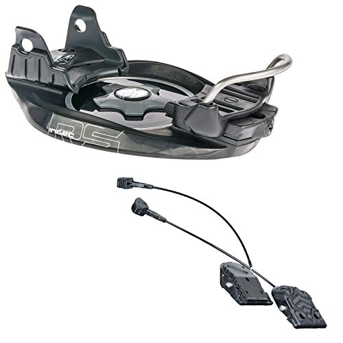 F2 INTEC RS Snowboard PLATTENBINDUNG BINDUNG ONE Size + INTEC Adapter