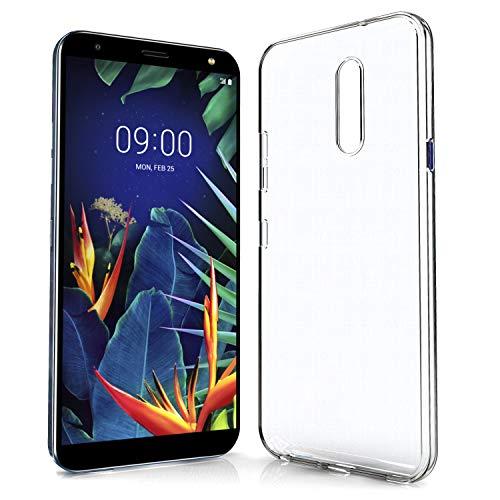 N NEWTOP Custodia Cover Compatibile per LG K40, Morbido TPU Clear Gel Silicone Anti Graffio Trasparente Slim Sottile Flessibile Case Posteriore Protettiva (per LG K40)