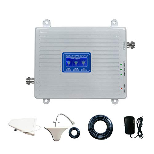 4G LTE Handy-Signalverstärker für Das Verstärker-Kit für Mobilfunk-Repeater bietet bis zu 500 Quadratmeter mobiles Datensignal für Heim und Büro,GSM/wcdma/imtefullset