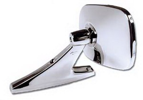 Price comparison product image CIPA 18000 Universal Oblong Chrome Car Side Mirror