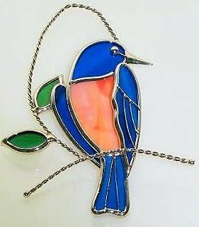 Stain Glass Bluebird Suncatcher