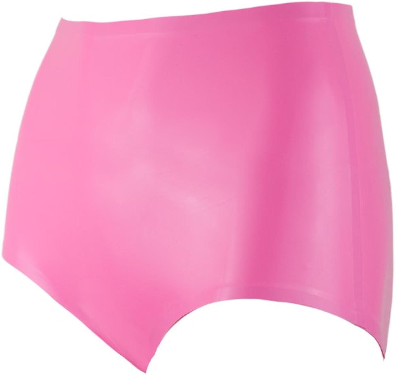 Collective Chaos Latex Retro Panties Hot Pink