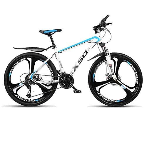 LILIS Bicicleta Montaña MTB camino de la bicicleta Bicicletas bicicletas for adultos Adolescentes Ciudad Amortiguador de bicicletas de montaña de velocidad ajustable for hombres y mujeres de doble fre