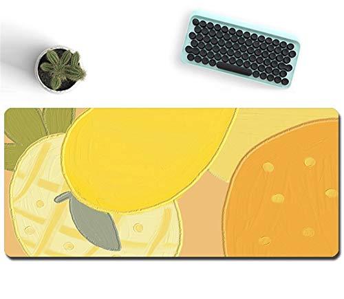 LaiYueShangMao Antideslizante Alfombrilla de ratón Doble-Lado Useable Portátil Gaming Mousepad Laptop Pad Escritorio para Trabajo de Oficina, hogar, decoración (Color : I, Size : 600x1200mm)