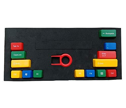 Feicuan 14 Tecla Function Keys Cap Cover Enter Shift Ctrl Reemplazo Keycap Universal para Teclado mecánico - Colorful A