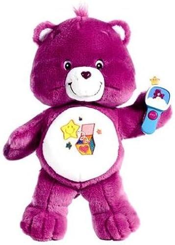 Care Bear - Glücksb hi - Surprise Bear - LILA - 2005 - ca. 32 cm   - aus USA
