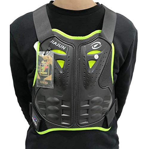 PLEASUR Mannen Motorfiets Vest Body Guard Vest Racing Fietsen Sking Riding Skateboarding Protector Motorbike Gear Motocross Body Armor Fiets Bescherming