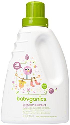 Babyganics Baby Laundry Detergent - Lavender - 35 oz