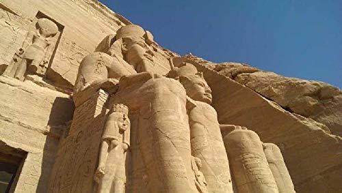 Puzzle de Madera de 500 Piezas para Adultos, Rompecabezas para Niños Adolescentes, Regalo Cumpleaños Navidad para Niños Adultos Paisaje del templo egipcio