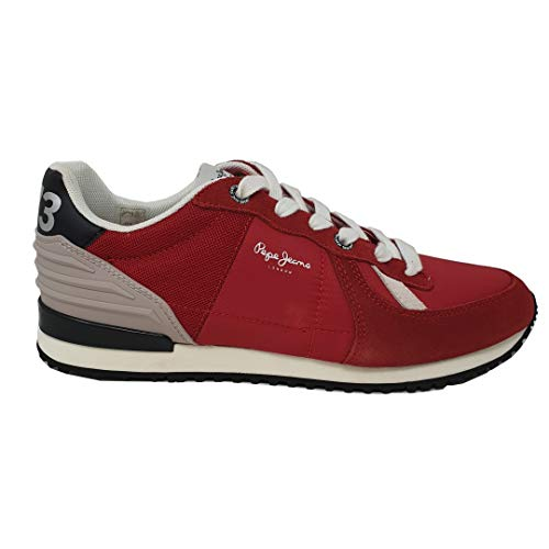Sneaker Pepe Jeans Combianad Tinker Wer Rojas para Hombre