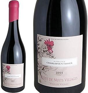 コート・ド・ニュイ・ヴィラージュ・ヴィエイユ・ヴィーニュ 2017 ドメーヌ・シャルロパン・ティシエ フランス ブルゴーニュ 赤ワイン 750ml