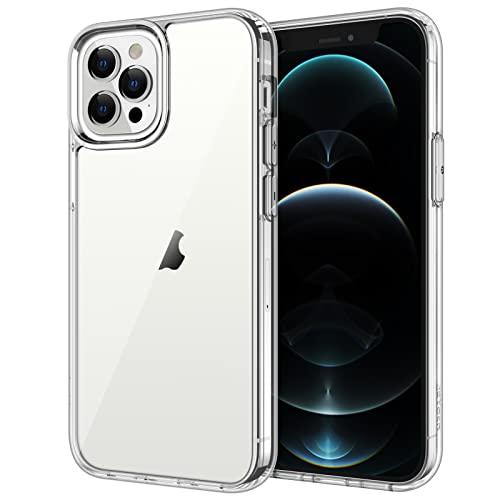 JETech Funda Compatible iPhone 12 Pro MAX 6,7 Pulgadas, Carcasa Anti-Choques y Anti- Arañazos, HD Clara