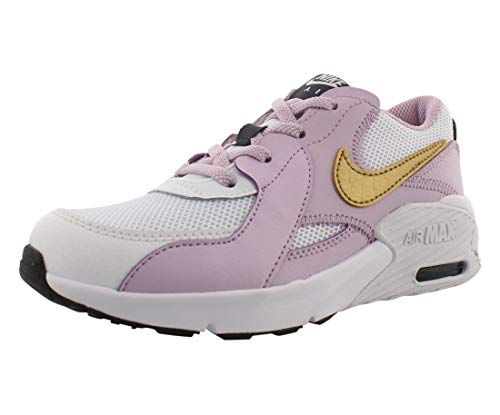 Nike Unisex barn Air Max Excee (Ps) sneakers, Vit Mtlc guld is lila off Noir - 28.5 EU