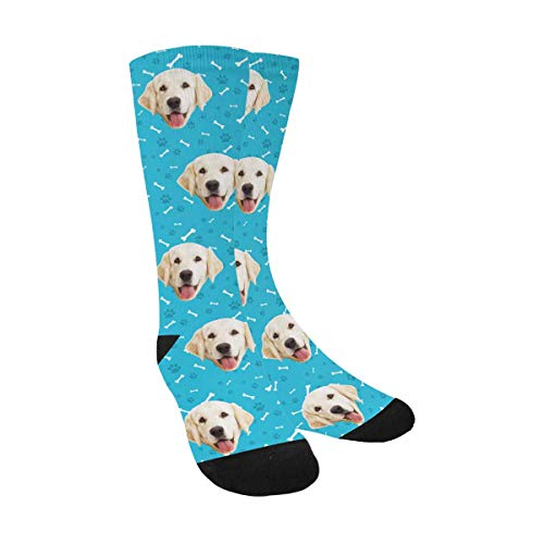 Custom Dog Socks  dog lover gifts for him