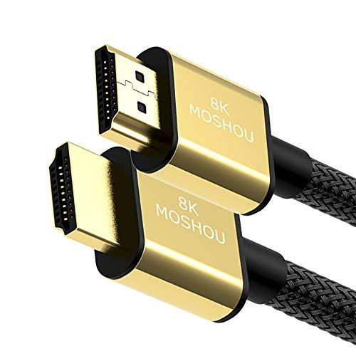 SIKAI CASE - Cavo HDMI 1.5 Metri, Cavo HDMI 2.1, 4K 120Hz Cavo, 8K Ultra HD, 48 Gbit/s, Supporto 4320p, Ethernet, HDR 10, eARC, HDCP 2.2, CEC, Compatibile con Xbox/Playstation/PS3 PS4/PC/Monitor AOC