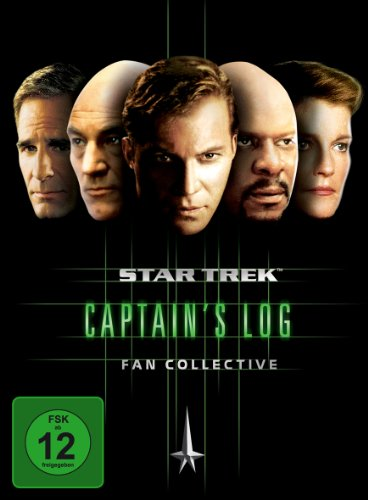 Star Trek - Captain's Log Fan Collective (4 DVDs)