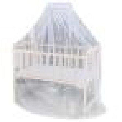 Ouneed® Bebe Universel Moustiquaire de lit Suspendu 160*420cm (Blanc)