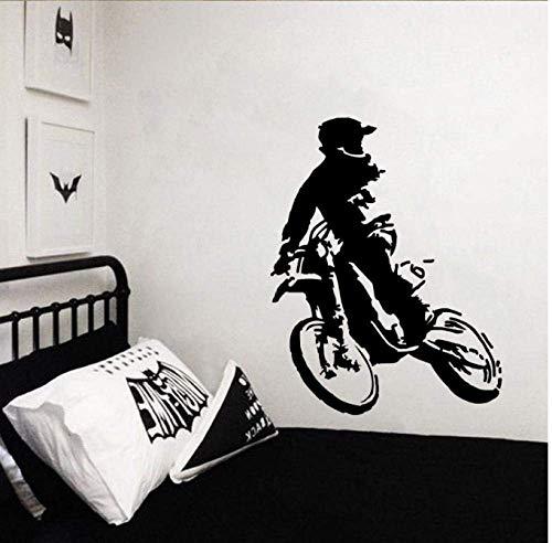 Calcomanías Adhesivas De Papel Tapiz 44Cm * 56.7Cm Hermosas Bicicletas Vintage Decoración Etiqueta De La Pared Pvc Sala De Estar El Dormitorio