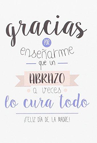ERIK- Amelie Feliz Dia Frases Postal con sobre Día de la Madre, 300 gr (TF0255)