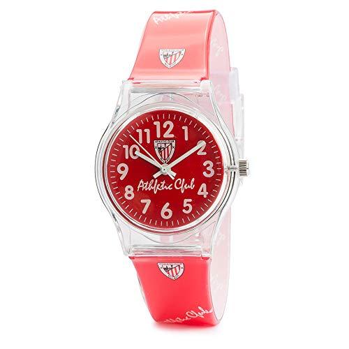 Athletic Club de Bilbao - Reloj analógico Unisex RE01AC05 (Rojo)